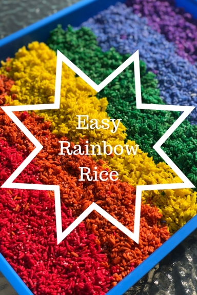 Easy Rainbow Rice